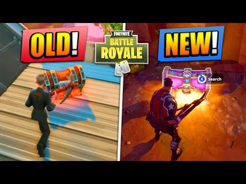 NEW Fortnite vs OLD Fortnite! (CHALLENGE)