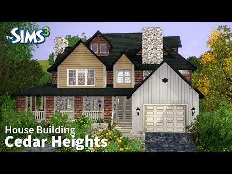 The Sims 3 House Building - Cedar Heights