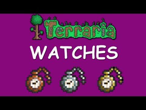 Terraria - Watches