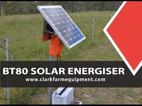 How to install and operate an Daken BT80 Solar Energiser