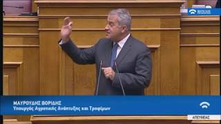 Μάκης Βορίδης:  Ο ΣΥΡΙΖΑ δεν κατανοεί τις μεγάλες ιδεολογικές μεταβολές που συμβαίνουν στην κοινωνία