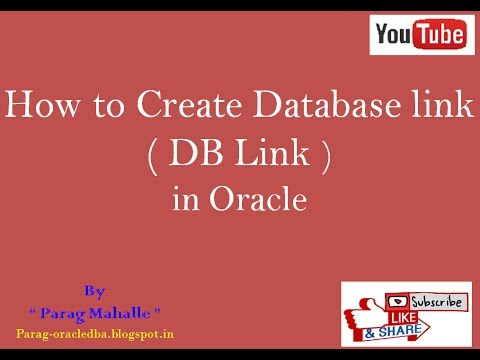 How to Create Database Link in Oracle. /* Step By Step /*