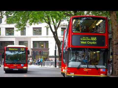 Riding Every Bus In London