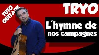 L'hymne de nos campagnes - Tryo - Les tuto de Guitare Facile
