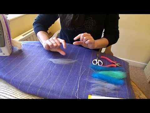 How to Make Realistic Wired Wool Feathers (Method One)