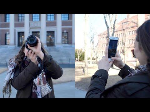 Can an iPhone take better travel photos than a DSLR?