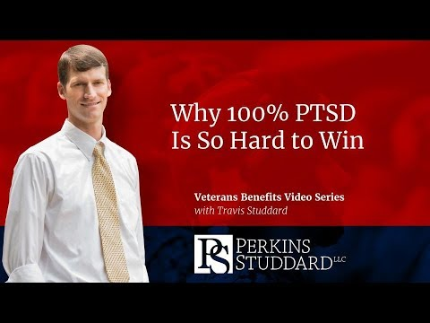 Why 100% PTSD Is So Hard to Win