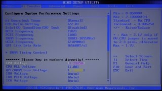 X5670 OVERCLOCKING GUIDE ASUS P6X58D-E MOTHERBOARD - The