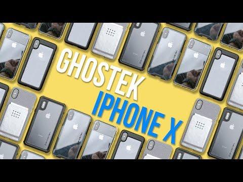 An Aluminum iPhone X Case?! - Ghostek iPhone X Cases - First Look