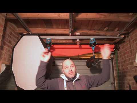 $57 photography ceiling lighting DIY hack.