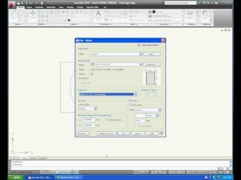 Converting Autocad to PDF.mov