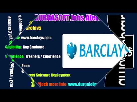Durgasoft JOBS Alerts|| Jobs for Experienced and Freshers !!! (28-05-2018)