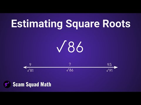 Estimating Square Roots to the nearest tenth