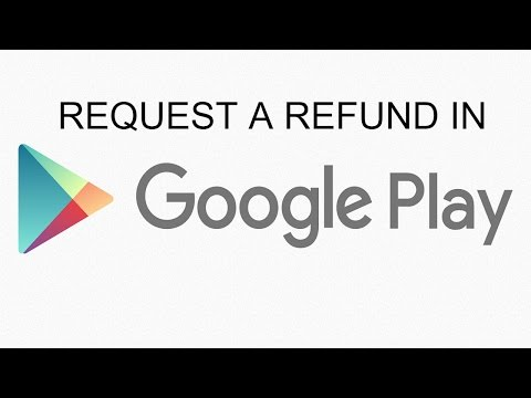 How To Request A Refund In Google Playstore