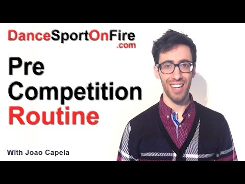 How to Create a Pre Competition Routine That Works in DanceSport