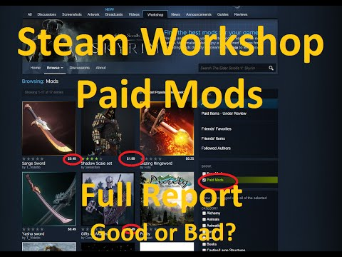 Valve Introduces Paid Mods to Steam Workshop - Will This Destroy the Mod Community?