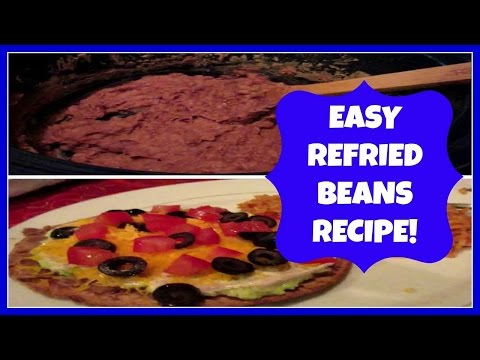 RECIPE: HOMEMADE REFRIED BEANS