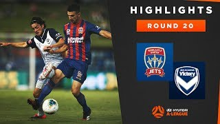 Highlights: Newcastle Jets v Melbourne Victory – Round 20 Hyundai A-League 2019/20 Season
