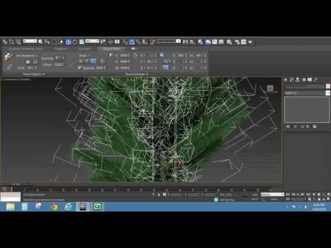 How to Create a Pine Tree in 3dsMax