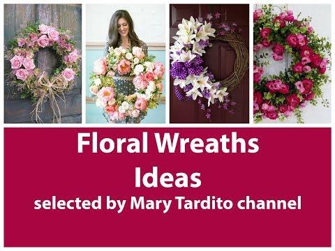 Floral Wreaths Ideas - Flower DIY Wreath Ideas