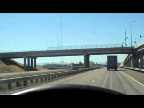 My drive across the country
