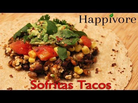 Happivore - Chipotle's Sofritas Taco Recipe (Vegan)