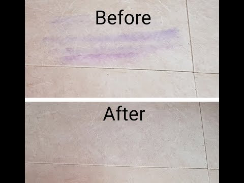 Remove Color Stains From Floor Using Body Spray | ASV Gallery