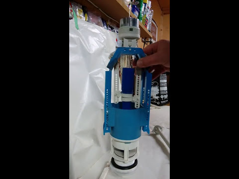 Reba cistern toilet K-Valve dual flush replacement