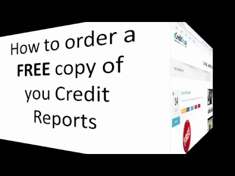 Equifax-how to get your Credit Reports