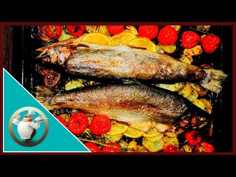 How To Cook Oven Trout | Easy Trout Fish Recipe |Trout Fish Recipe In 20 Min