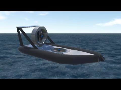 Flying hovercraft (SimplePlanes)