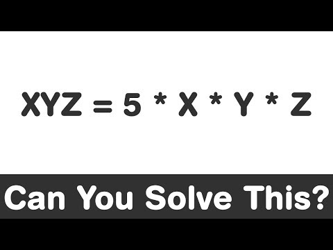 Viral Math Problem | Find Number which is 5 times product of its Digits