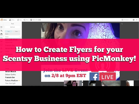 How to Create Flyers for your Business with PicMonkey!
