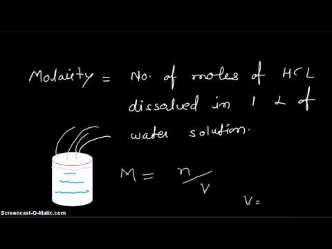 Video - How to prepare 0.1M HCl solution