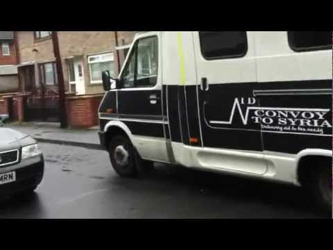 Aid for Syria Convoy leaving (Dewsbury / Batley)