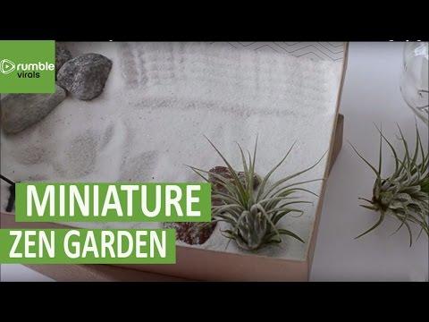How to create your own mini zen garden