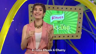 Syra Sheroz gets super excited to meet Chuck & Chatty!