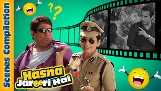 Hasna Zaroori Hai – Bollywood Best Comedy Scenes Ever - Johnny Lever - Paresh Rawal - Govinda