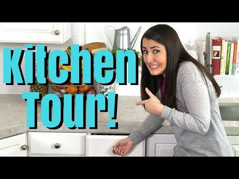 KITCHEN TOUR! Come poke through all my drawers and cupboards!