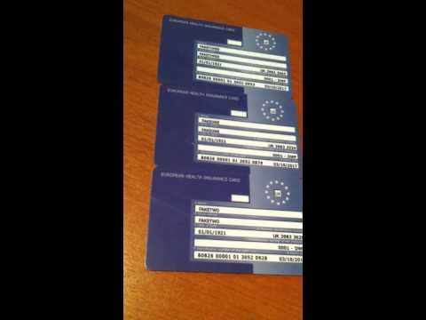 fake nhs cards