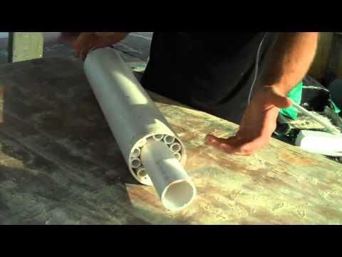 DIY Huge Underwater Roller bearing!  PVC.