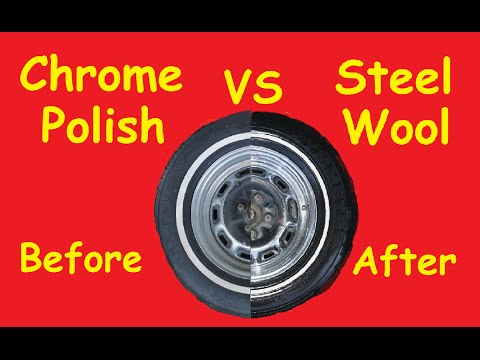 Steel Wool vs Chrome Mag Aluminum Polish ~ How to Video