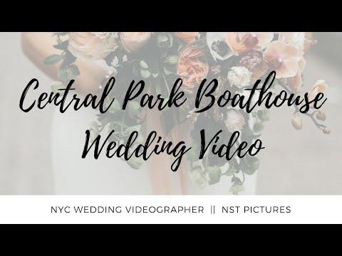 New York Wedding Videographer | Central Park Boathouse Wedding Video