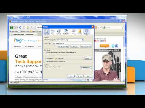 How to make Mozilla® Firefox the default browser on a Windows® XP-based PC?