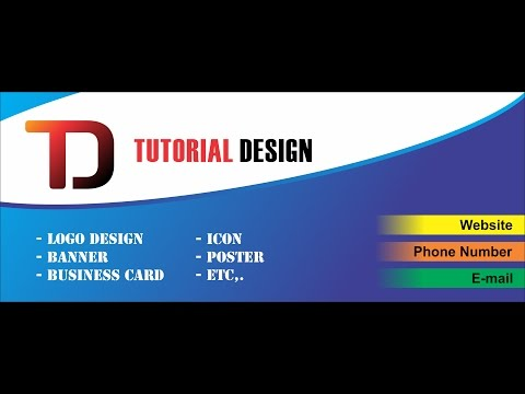 simple Banner Design  with corel draw..