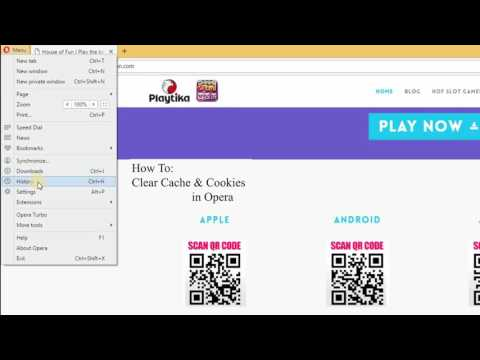 How to Clear Cache & Cookies in Opera