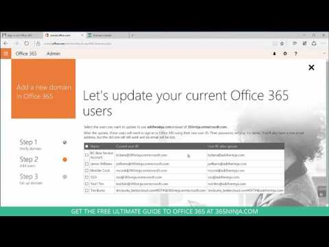 How to Set Up a New Domain in Office 365
