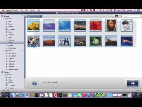 How to Transfer Photos from iPhone to Mac with Leawo iTransfer ?