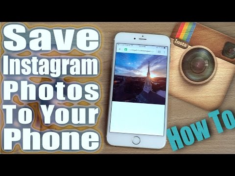 [How- To] Save Instagram Photos & Videos Iphone ipod toch ipad