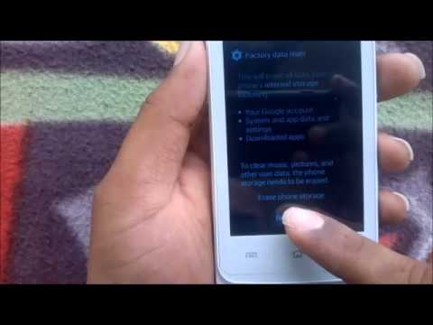 How to Hard Reset Lenovo A800 and Forgot Password Recovery, Factory Reset